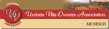Member of Umbria Villa Owners Association - Villa Nuba Charming Villa Apartments