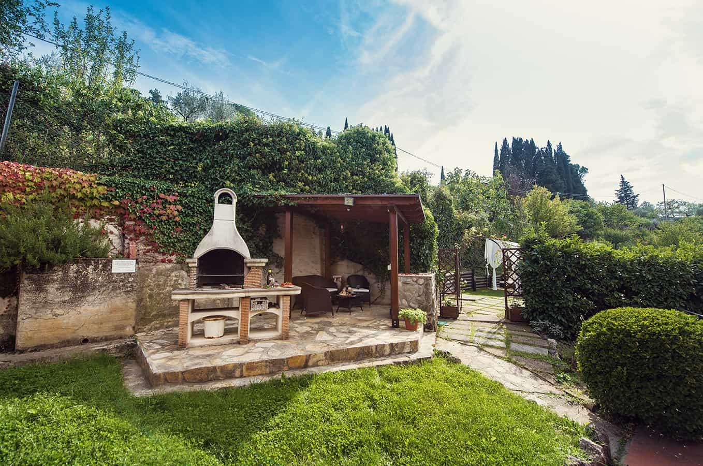 Villa Nuba la nostra area barbecue per le tue grigliate